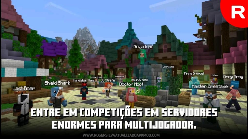 Download Minecraft PE V1.17.0.58 - Multijogador em tempo real