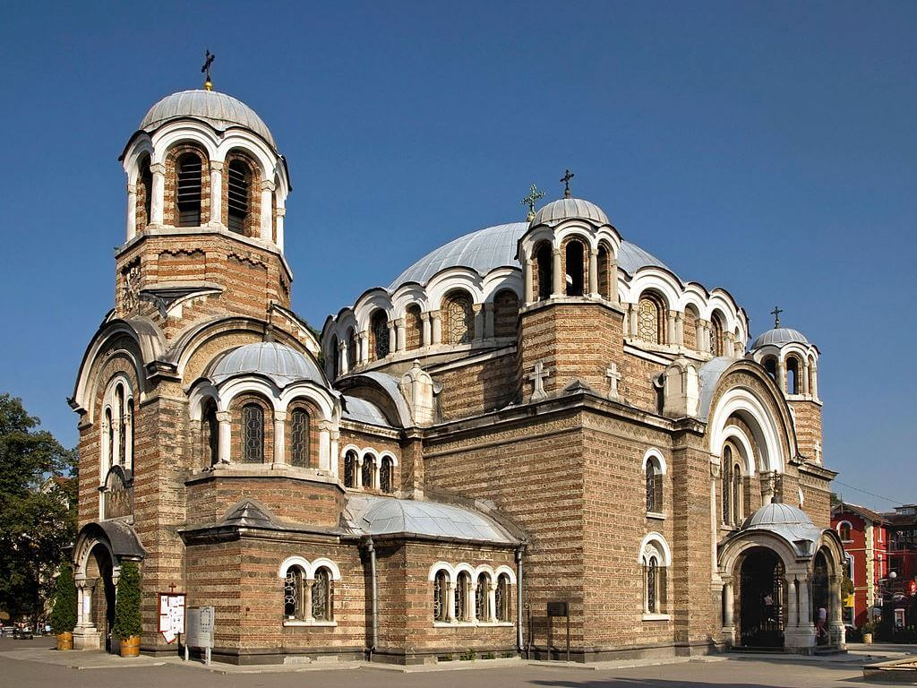 Sveti Sedmochislenitsi Church of Sofia, Bulgaria