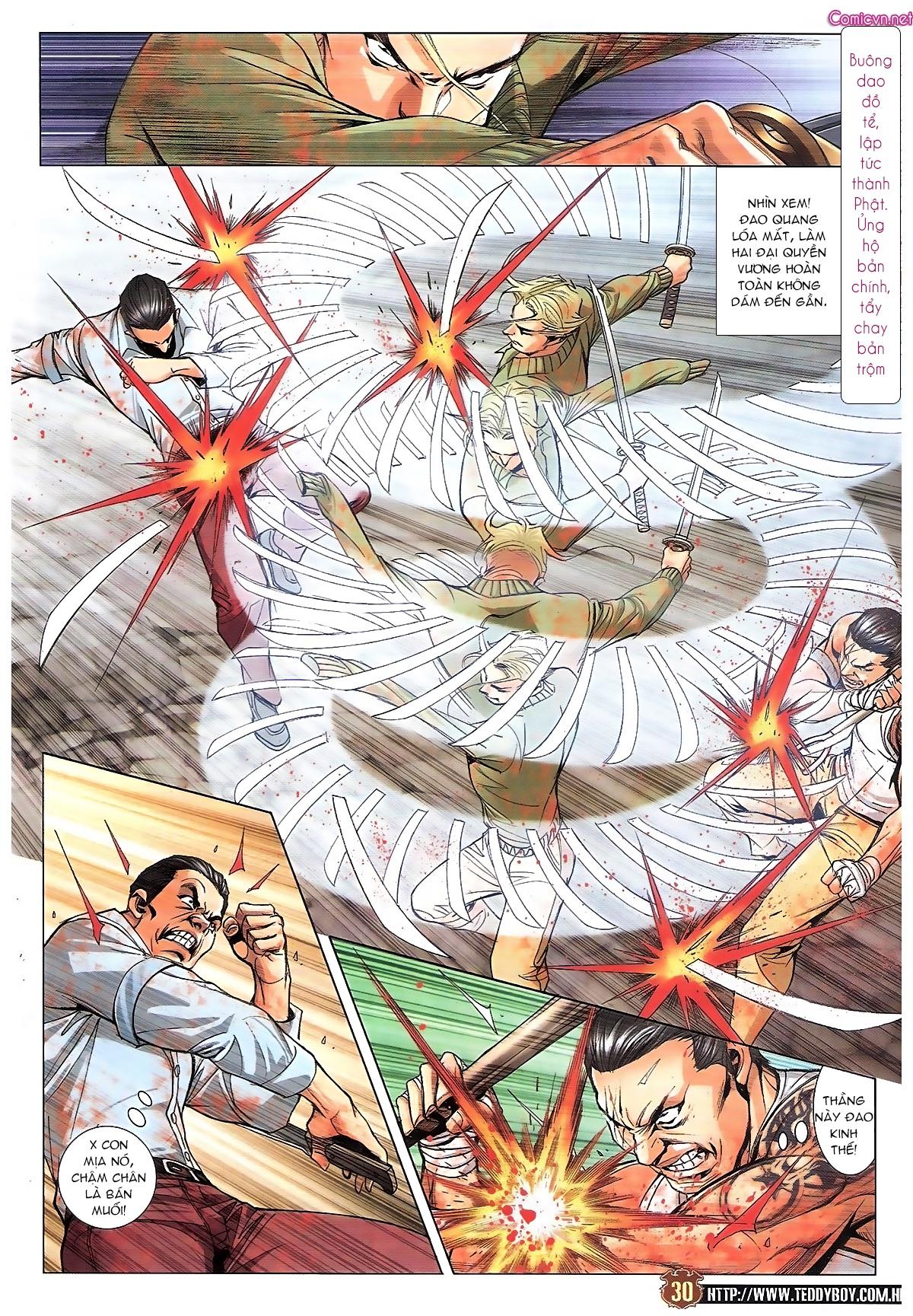 Người Trong Giang Hồ chapter 1834: kim mông không vs kim mông không trang 27