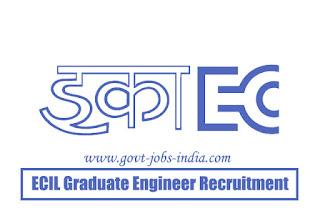 ECIL Graduate Engineer Recruitment 2019