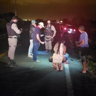 Acidente grave foi registrado na BR 104, entre Nova Floresta e Cuité