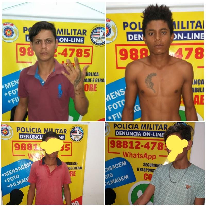 Lagoa Grande: Polícia desarticula quadrilha suspeita de furtos e tráfico de drogas.