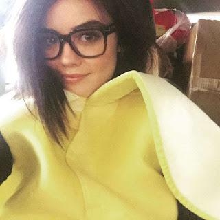 Lucy hale as banana for Halloween