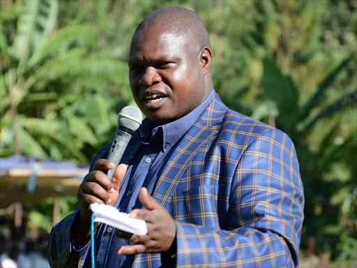 Kisii Deputy Governor Joash Maaangi photo