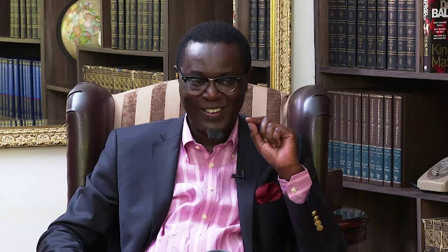 Controversial political analyst Mutahi Ngunyi