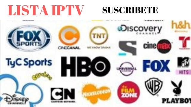Lista m3u IPTV remota canales de españa 12 noviembre 2019