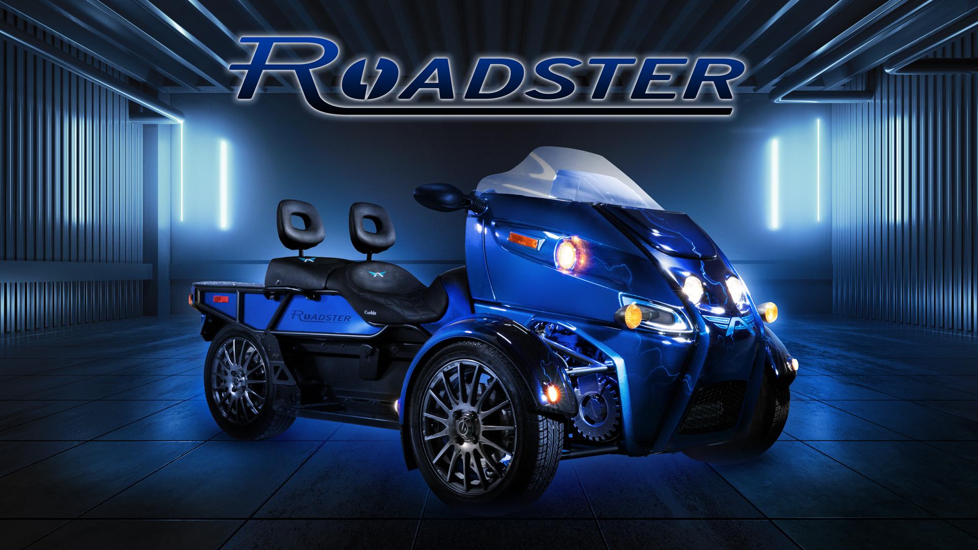 Affordable electric three-wheeler set for Daytona launch