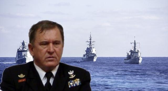 """Ναύαρχος Κονιδάρης: """"Η εμπλοκή του ΝΑΤΟ στο Αιγαίο"""""""