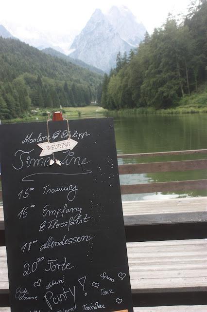 Time Line - Zeittafel - Rosamunde Pilcher inspirierte Sommerhochzeit in Pfirsich, Apricot, Pastelltöne - Heiraten in Garmisch-Partenkirchen, Bayern, Riessersee Hotel, Seehaus am Riessersee - Hochzeit am See in den Bergen - Peach and Pastell wedding