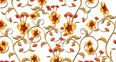 Jwellery-gold-flower-for-textile-print