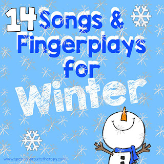14 preschool songs and fingerplays for speech therapy #speechsprouts #speechtherapy