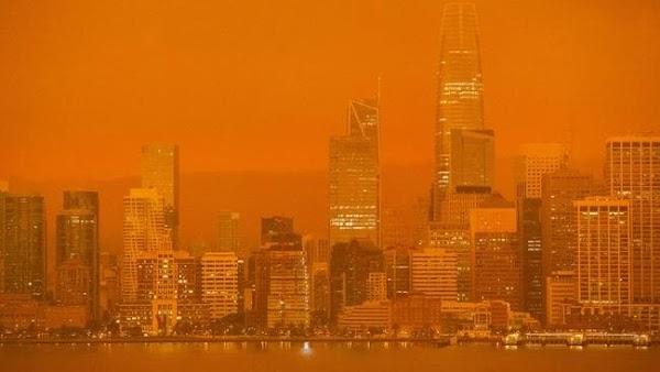 Mencengangkan! Berikut Foto-Foto Kebakaran di California!