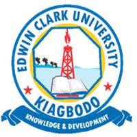 Edwin Clark University JUPEB Admission Form, 2018/2019 Out
