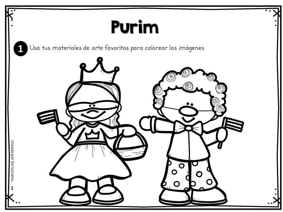 Festividades judías-El Purim - De los tales