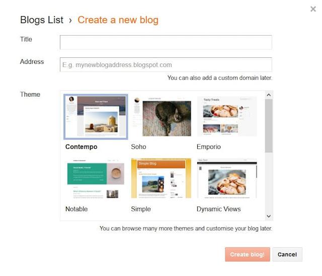 How To Create a Blogger Account?   Create a Blogspot Website