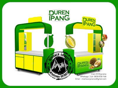 jasa desain dan produksi gerobak durian