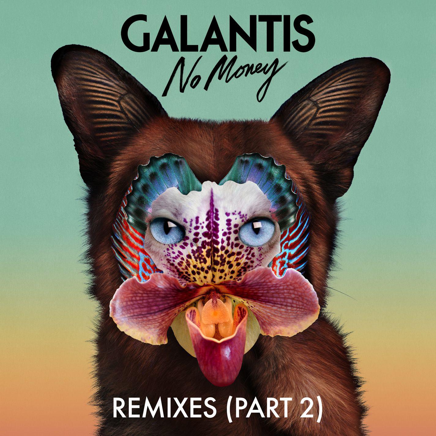 Galantis - No Money (Remixes, Pt. 2) - EP Cover