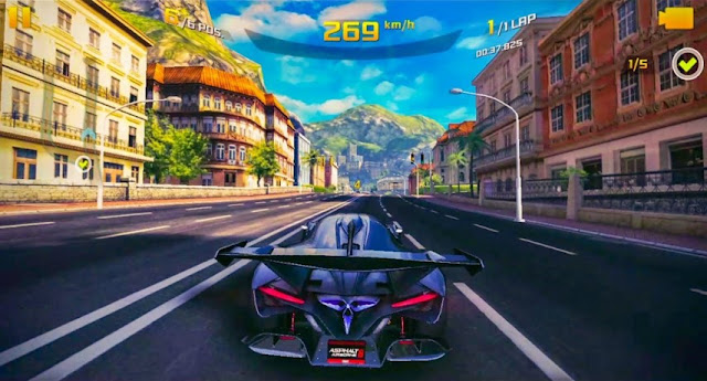 Game Balap Mobil Offline Terbaik Asphalt 8