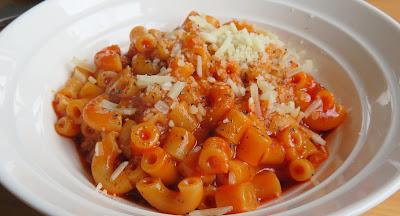 Saucy Pasta Hoops