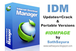 #IDMPAGE - Internet Download Manager Updates by Sathsayura (www.sathsayura.blogspot.com)
