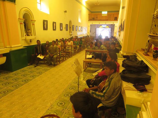 Gottesdienst beim Treff der Pastoralzone Süd der Diözese Potosí