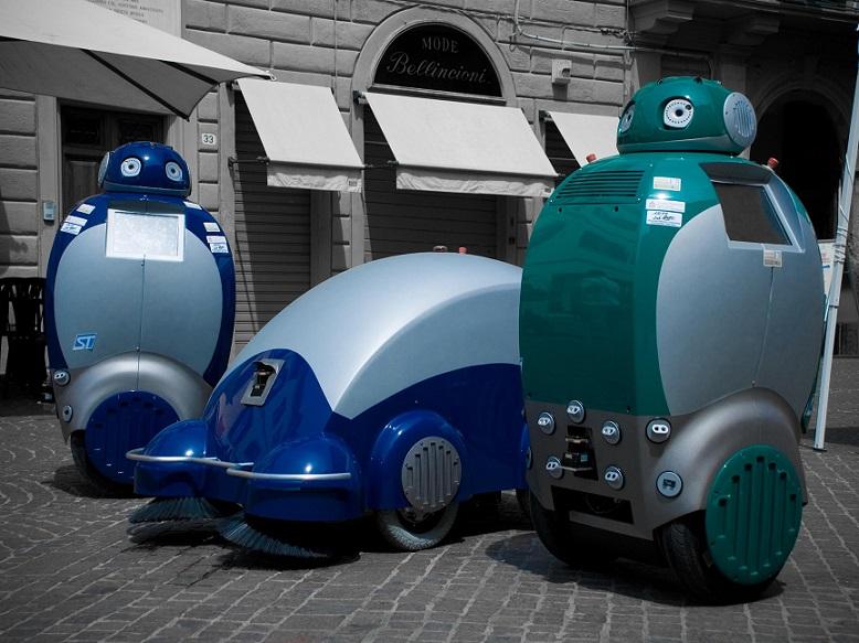 Dustbot, Robot Pintar Pemungut Sampah di Masa Depan