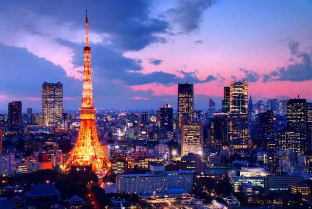 برج طوكيو المشابة لبرج ايفيل,Tokyo Tower