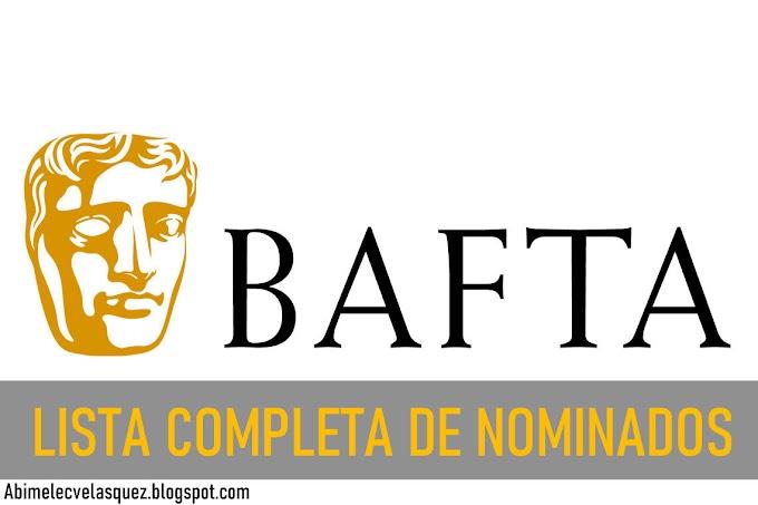 LISTA COMPLETA DE NOMINADOS A LOS PREMIOS BAFTA 2021