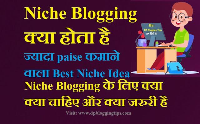 niche blogging kya hai