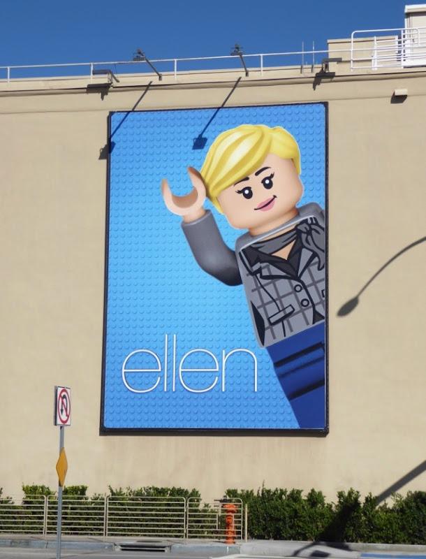 Ellen Lego 2017 billboard