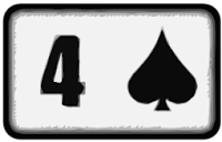 four of spades playing card
