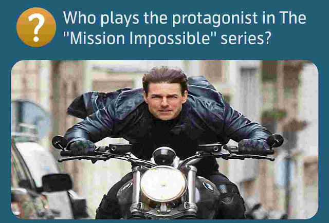 Who plays the protagonist in The ''Mission Impossible'' series?