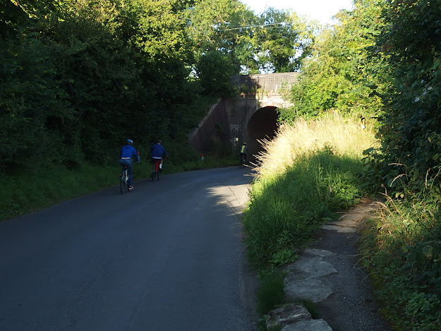 The tunnel under the mainline railway at Kellaways