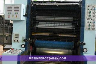 mesin percetakan Sakurai Oliver-252E