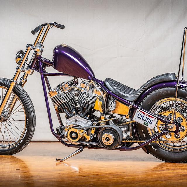 Harley Davidson Shovelhead By True Love Speed Shop Hell Kustom