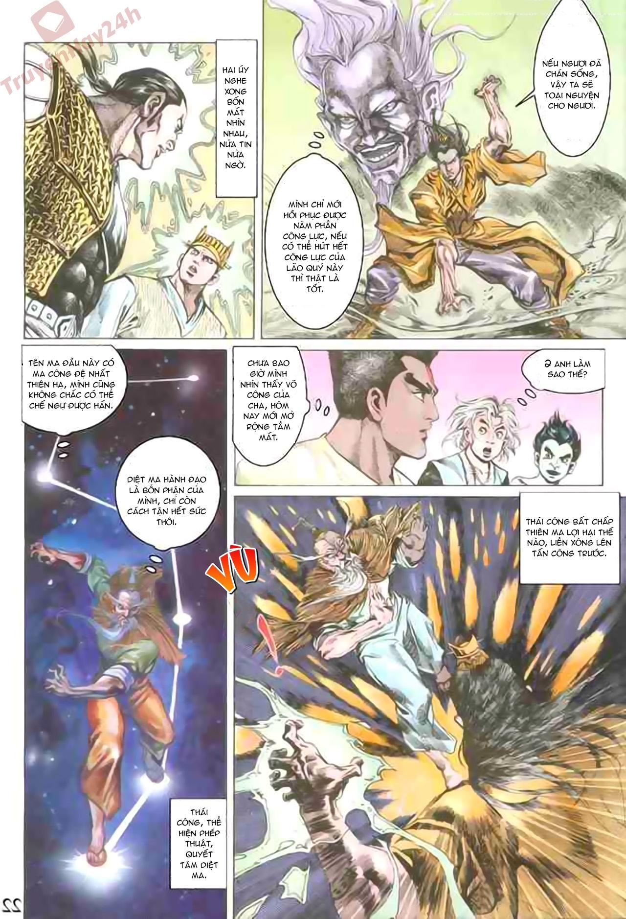 Cơ Phát Khai Chu Bản chapter 77 trang 21