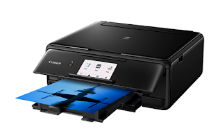 s photographs every bit good every bit invites to documents Canon PIXMA TS8100 Driver Download