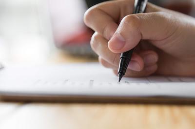 Escribiendo Carta de Renuncia