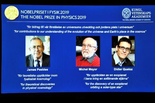 Nobel de Física para estudios sobre la evolución del universo