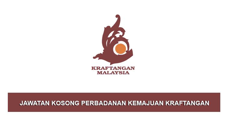 Jawatan Kosong Di Perbadanan Kemajuan Kraftangan Malaysia Jobcari Com Jawatan Kosong Terkini