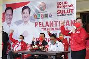 Olly Reamikan Rumah Pemenangan dan Lantik Tim Pemenangan ODSK. SAS Yakin PDIP Raup Suara Signifikan