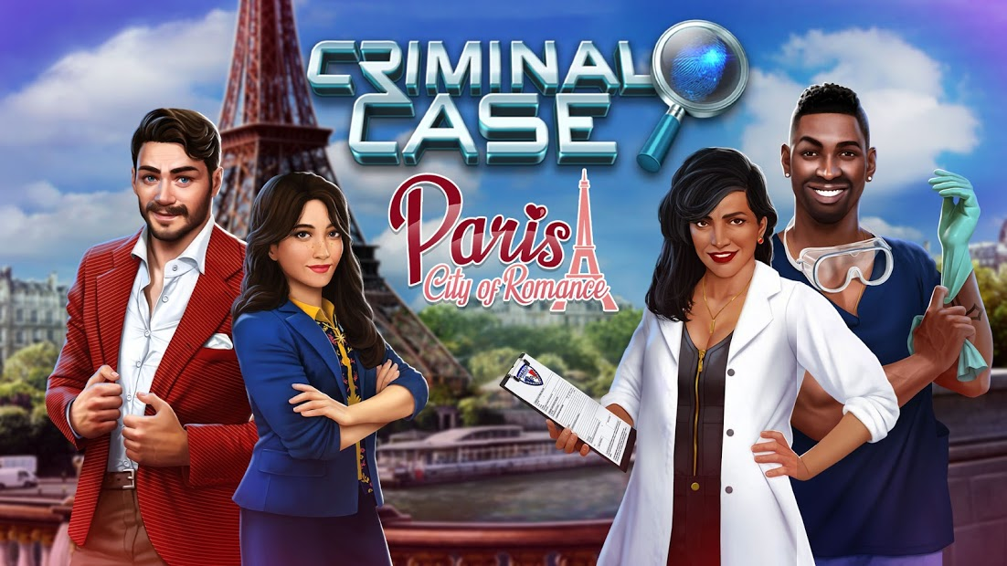 Criminal Case Paris Hileli APK - Yıldız + Para + İpucu Hileli APK