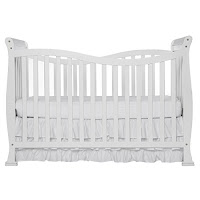 Dream On Me Violet 7 in 1 Convertible Life Style Crib, White