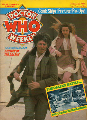 Doctor Who #21, Tom Baker and Lalla Ward