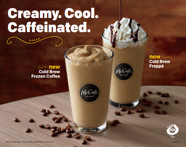 Caffeine In Iced Coffee From Mcdonalds