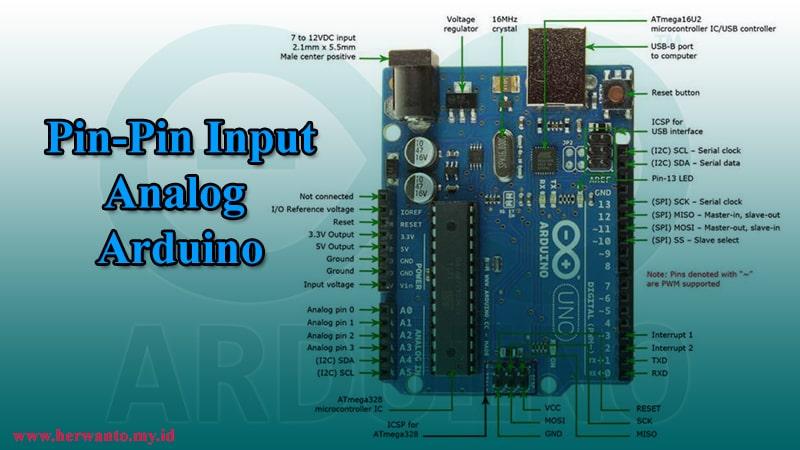 pin-pin input analog arduino