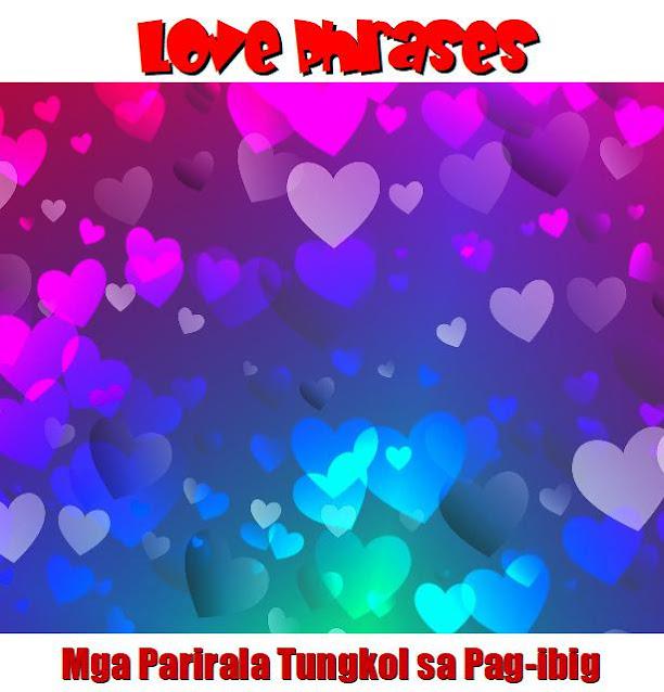 Tagalog Love Phrases