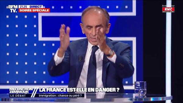 """""""Je ne suis pas d'accord"""" : Jean-Luc Mélenchon refuse en direct d'arrêter sa prise de parole"""