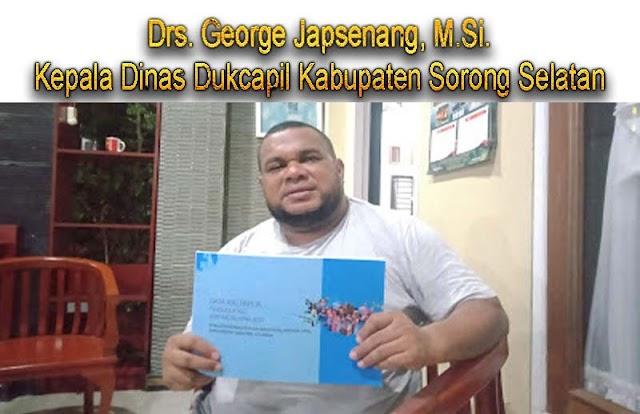 Dinas Dukcapil Sorong Selatan,berhasil menerbitkan Buku Data Orang Asli Papua di Kabupaten Sorong Selatan