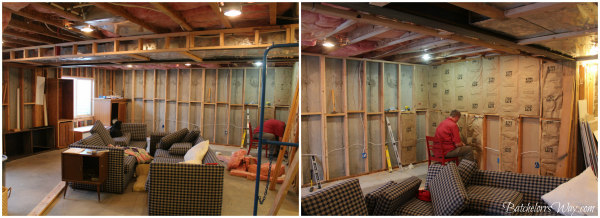 batchelors way basement family room framing electrical rh batchelorsway com Wiring Outlets in Your Basement Basement Plan Wiring -Diagram